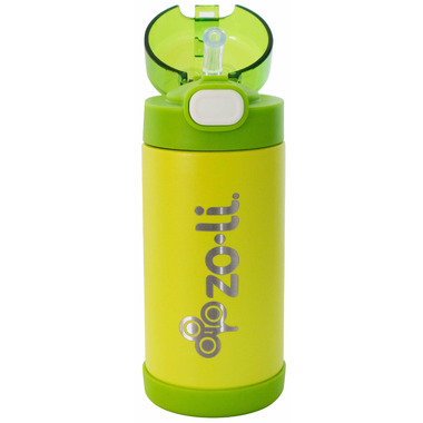 Zoli POW Squeak Double Walled Insulated Stainless Steel Bottle Green