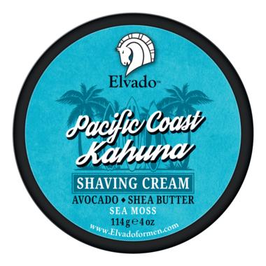 Elvado Pacific Coast Kahuna Shave Cream Jar