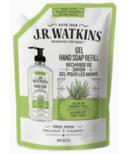 J.R. Watkins Aloe & Green Tea Gel Hand Soap Pouch Refill