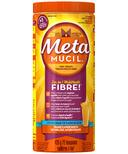 Metamucil Multi Health Fibre Orange Flavour Smooth Texture Powder