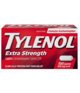 Tylenol Extra Strength 500mg Caplets