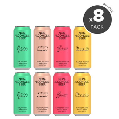 BSA Non-Alcoholic Beer Variety Bundle