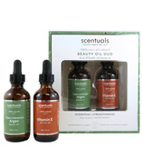 Scentuals Hydrating Beauty Oil Duo
