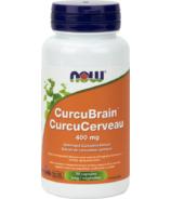 NOW Foods CurcuBrain Veg Capsules