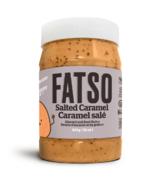 Fatso Beurre de graines au caramel salé et aux amandes