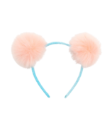 Hatley Fluffy Pink Pom Poms Headband