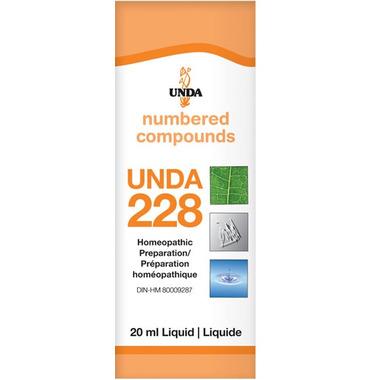 UNDA Numbered Compounds UNDA 228 Homeopathic Preparation