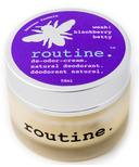 Routine De-Odor-Cream Natural Deodorant in Blackberry Betty Scent