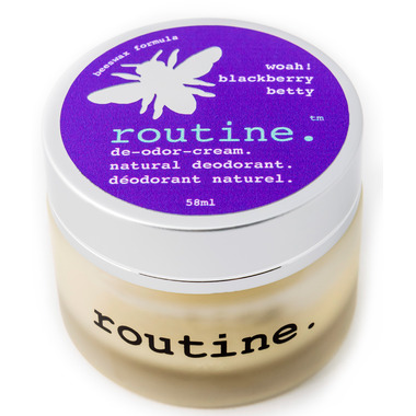 Routine De-Odor-Cream Natural Deodorant in Blackberry Betty Scent