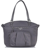 TWELVElittle Allure Dome Satchel Grey