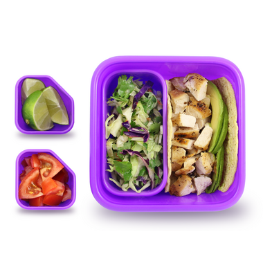 Goodbyn Portions on the Go Purple