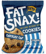 Fat Snax Chocolate Chip Cookies