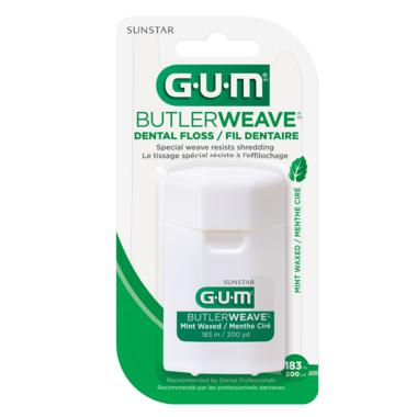 Gum ButlerWeave Mint Waxed Dental Floss