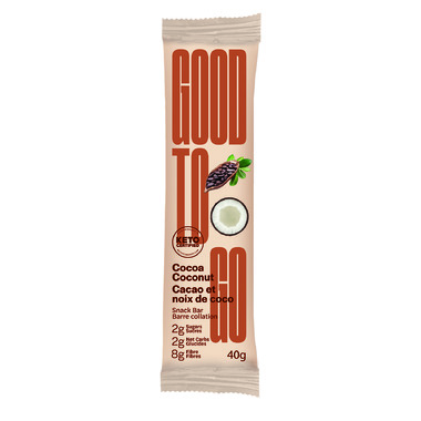 Good To Go Keto Bar Cocoa Coconut