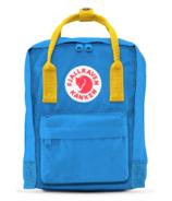 Fjallraven Kanken Backpack Blue & Yellow