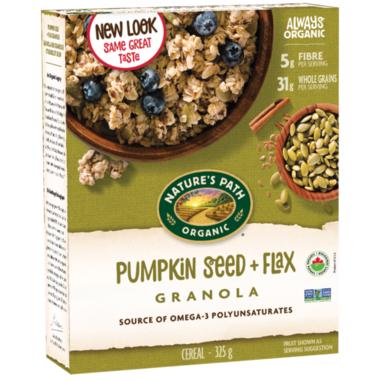 Nature\'s Path Organic Pumpkin Seed & Flax Granola