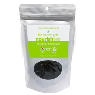 Nourishtea The Emerald Path Loose Leaf Tea