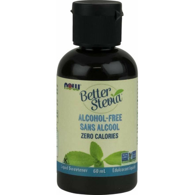 NOW BetterStevia Alcohol-Free Liquid Sweetener