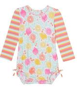 Hatley Citrus Baby Rashguard Swimsuit
