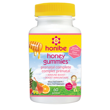 Honibe Honey Gummies Prenatal Multivitamin with Immune Boost