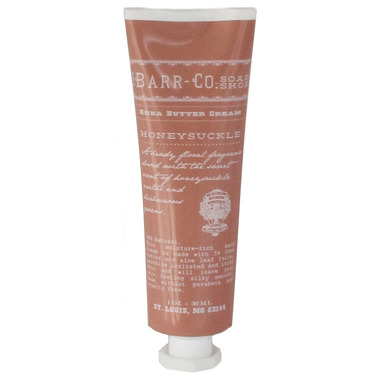 Barr-Co. Soap Shop Shea Butter Mini Cream Honeysuckle
