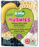 Baby Gourmet Mushies Banana Berry with Greek Yogurt