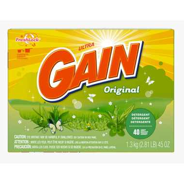Gain Ultra Powder Laundry Detergent