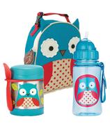 Skip Hop Owl Lunch Bundle