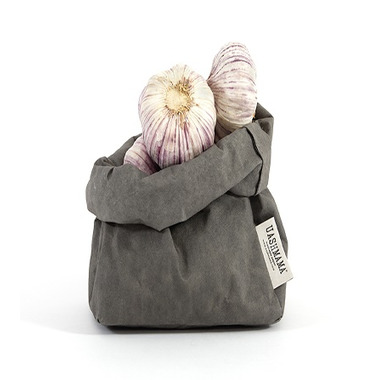 UASHMAMA Paper Bag Medium Dark Grey