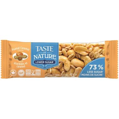 Taste of Nature Peanut Caramel Snack Bar