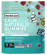 Herbaland Calm Naturally Gummies For Adults