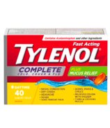 Tylenol Complete Cold, Cough & Flu Liquid Gels