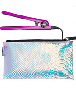 Eva NYC Mini Healthy Heat Ceramic Styling Iron & Bag .5 Inch