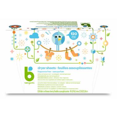 babyganics Dryer Sheets Fragrance Free