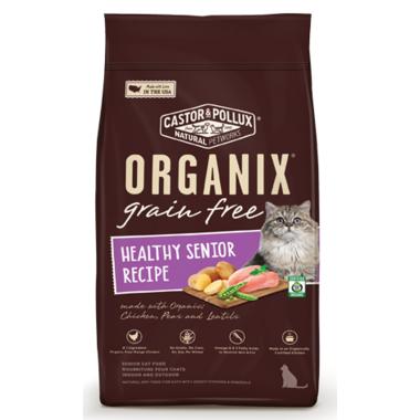 Castor & Pollux Organix Grain Free Organic Healthy Senior Cat Food