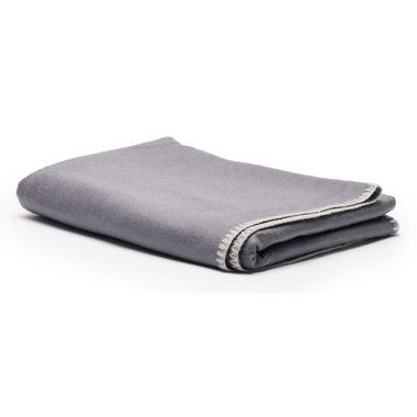 Halfmoon Silk Savasana Blanket Charcoal