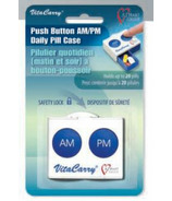 VitaMedic Push Button AM/PM Pill Organizer