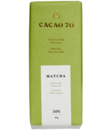 Cacao 70 Special Collection Matcha Tea-Infused White Chocolate
