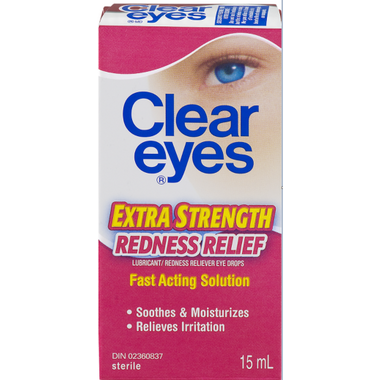 Clear Eyes Extra Strength Redness Relief