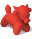 Charming Pet Products Latex Balloon Animal Bull Large Dog Toy