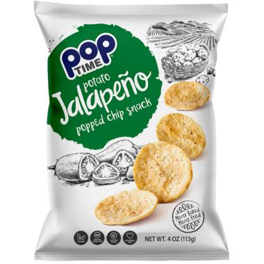 Pop Time Jalapeno Salt Popped Chips