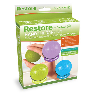 Restore by Gaiam Hand Therapy Kit