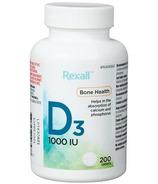 Rexall Vitamin D3 1000IU