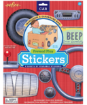 eeboo Car Pretend Play Stickers