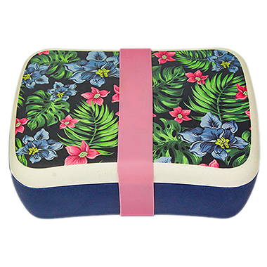 Woodway Bamboo Lunch Box Tropical