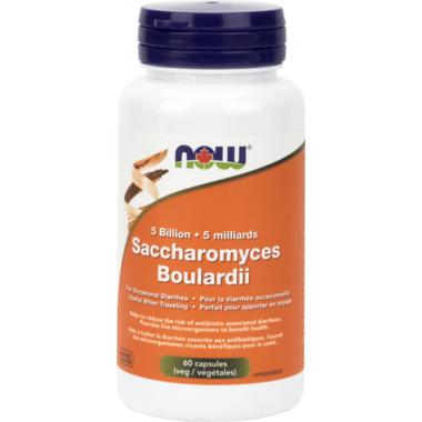 NOW Foods Saccharomyces Boulardii Veg Capsules