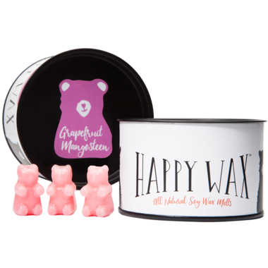 Happy Wax Classic Tin Grapefruit Mangosteen Soy Wax Melts
