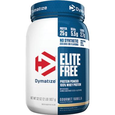 Dymatize Nutrition Elite Whey Protein Gourmet Vanilla