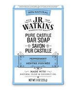 J.R. Watkins Peppermint Castile Hand & Body Bar Soap