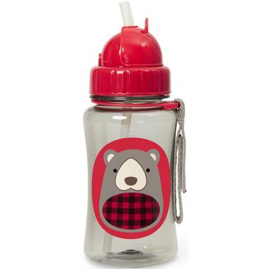 Skip Hop Zoo Winter Straw Bottle Bear